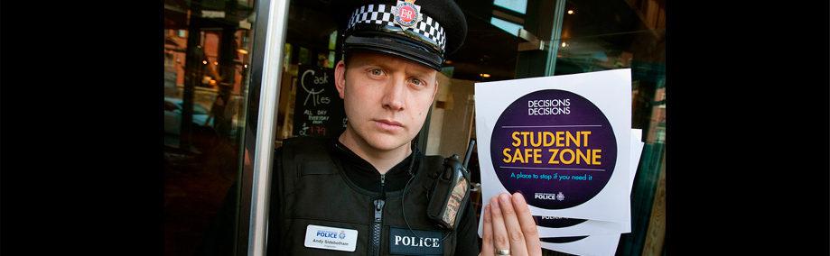 police student safe zone