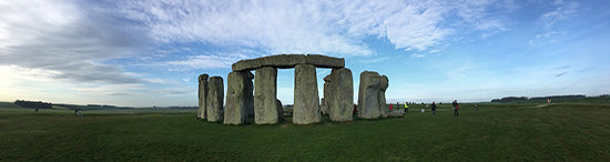 Student holidays stone henge